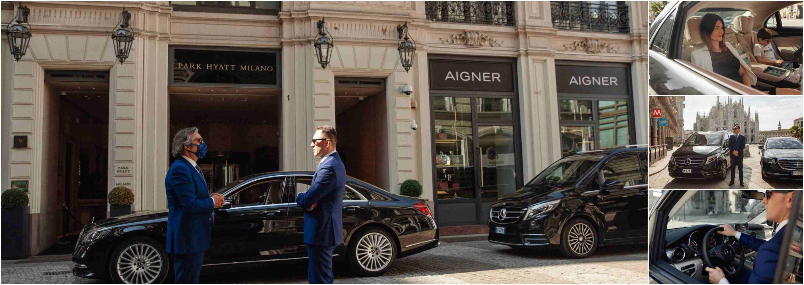 Luxury Car Rental Rome With Driver - Chauffeur Services in Rome